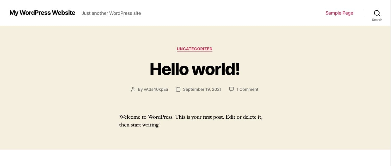JETBOYからWordpressをインストール21